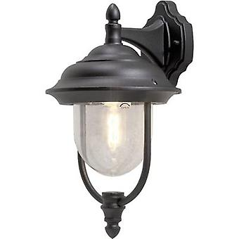 Konstsmide Parma 7222-750 Outdoor wall light Energy-saving bulb, LED E27 75 W Black