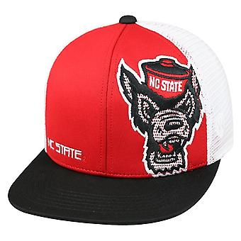 NC State Wolfpack NCAA TOW Banshee Flat Bill Snapback Hat