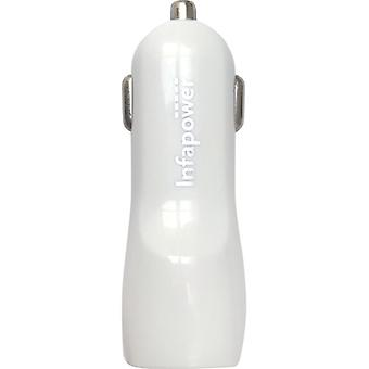 Infapower P040 Twin USB Car Charger 2100mA