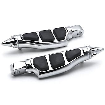 Stiletto Motorcycle Foot Pegs Footrests Left+Right For Suzuki Intruder 1400 Boulevard S83 2000-2004 Front