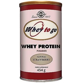 Solgar Whey To Go Protein Powder Strawberry (Sport , Muscle mass , Proteins)
