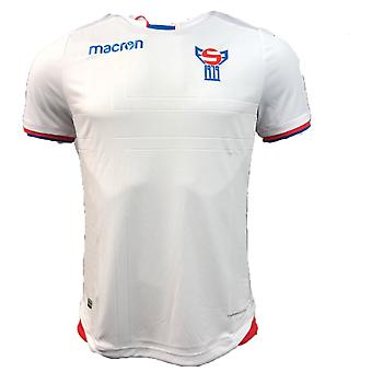 2018-2019 Faroe Islands Home Macron Football Shirt
