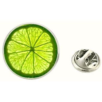 Bassin og brun Lime jakke revers Pin - Lime grøn
