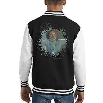 TV Times Liza Minnelli Distressed Edge Effect Kid's Varsity Jacket