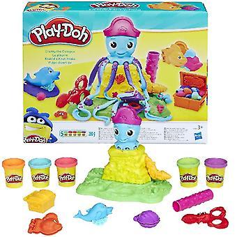Play-Doh verschroben die Krake