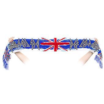 Sciarpa di Def Leppard-Union Jack