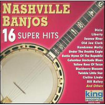 Nashville Banjos - 16 Super Hits [CD] USA import