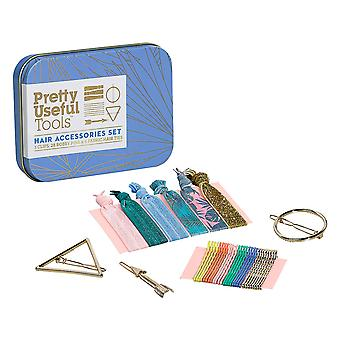 Pretty Useful Tools Hair Accessories Set (Azure Sky)