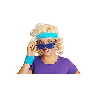 Brille 80' Brille blau