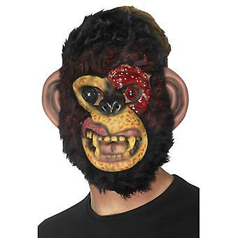 Zombie sjimpanse maske