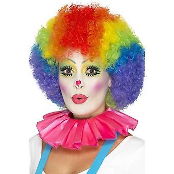 Clown Neck Ruffle, Pink