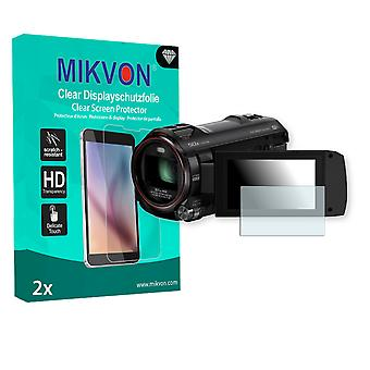 Panasonic HC-W850 Screen Protector - Mikvon Clear (Retail Package with accessories)