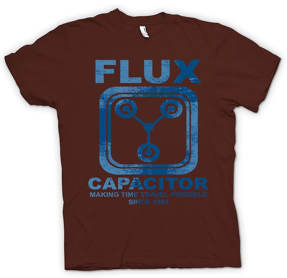 Herren T-Shirt - Flux Capacitor - Making Time Travel Mögliche