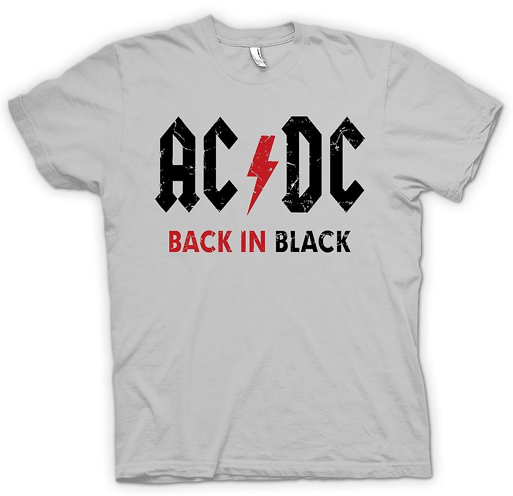 Herren T-shirt - AC/DC - Back In Black