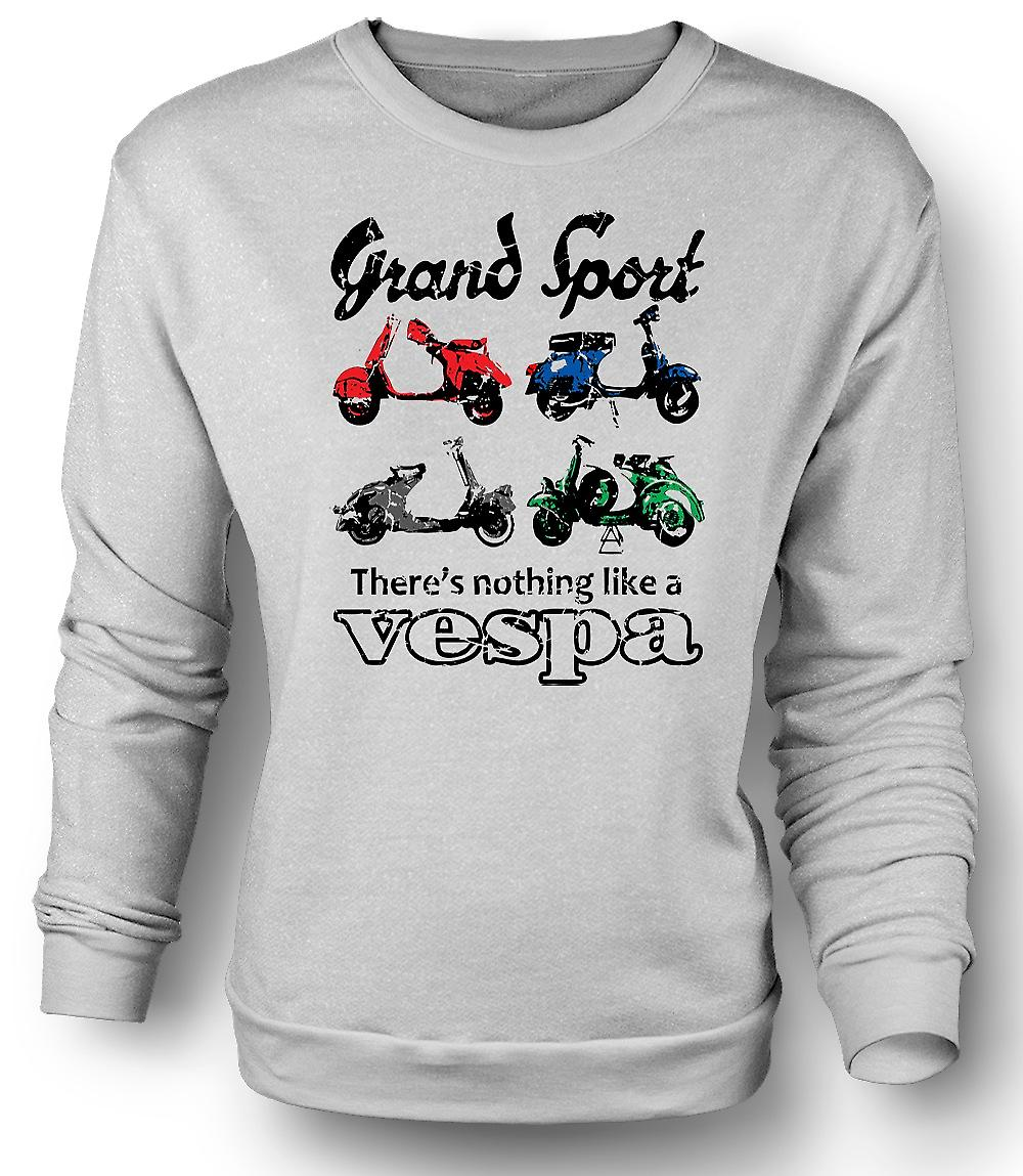 Mens Sweatshirt Vespa Grand Sport - Pop-Art