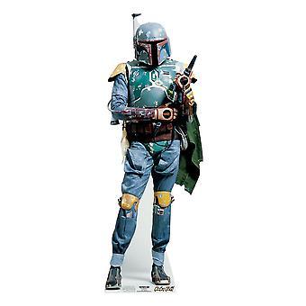 Boba Fett (Star Wars) - Lifesize Figura de cartón / espectador de pie