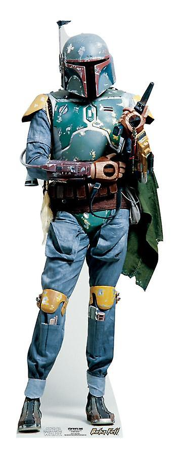 Boba Fett (guerre stellari) - cartone Lifesize ritaglio / Standee