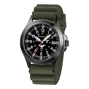 KHS watches mens watch black platoon titanium automatic KHS. BPTA. DO