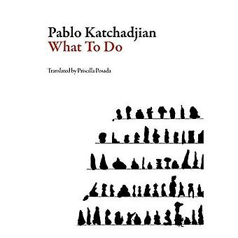 What to Do (Argentinean Literature)