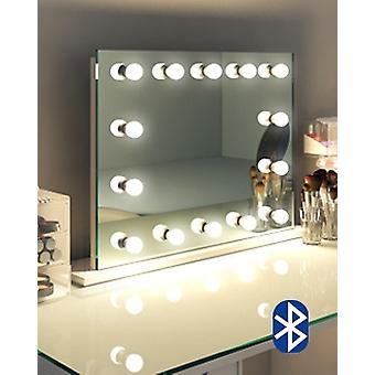 Diamond X Marcela Audio Hollywood Makeup Mirror Dimmable k518saudCW