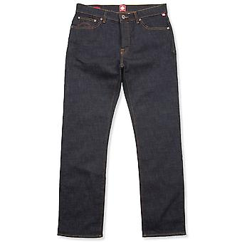 Pretty Green Burnage Regular Fit Dark Wash Jeans