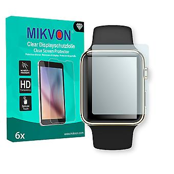 Apple Watch 38mm (Series 3) Screen Protector - Mikvon Clear (Retail Package with accessories) (reduced foil)