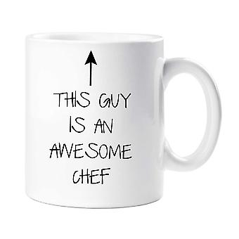 This Guy Is An Awesome Chef Mug