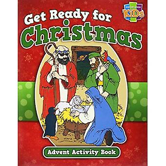 Get Ready for Christmas! Advent Activity Book-48 Pg