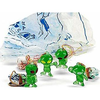 48 Mini Alien Paratroopers for Party Bags | Birthday Loot Bag Filler Favours