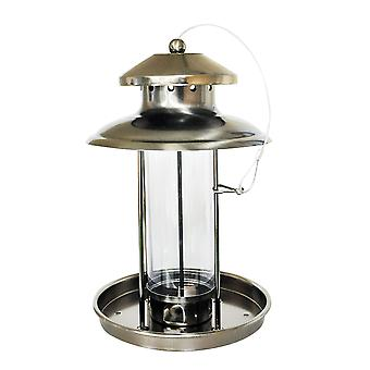 Naturenmarkt BF036 Deluxe Metal Stylish Garden Wildvogelfeeder