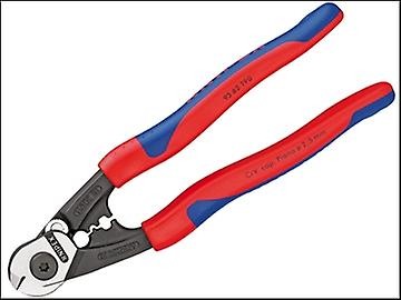 Knipex Wire Rope / Bowden Cable Cutter Multi Component Grip 190mm