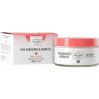 Scottish Fine Soaps Pink Grapefruit & Argan Oil Body Scrub
