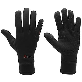 Roeckl Mens Pino Cycling Gloves Breathable Warm Silicone