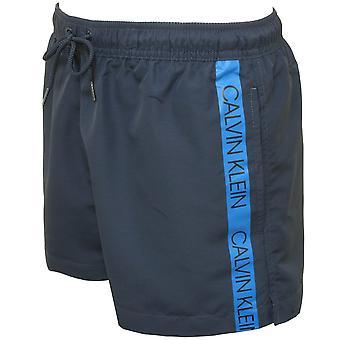 Calvin Klein Core Logo taśmy pływać szorty, US Navy