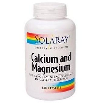 Solaray Calcium and magnesium 90 Capsules (Vitamines en Suplementen , Mineralen)