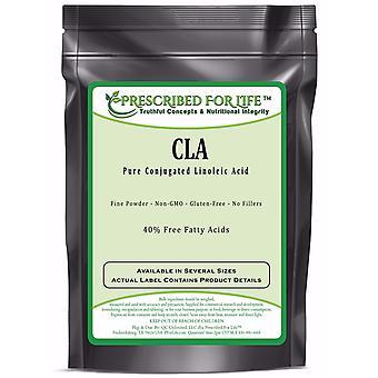 CLA - 40% Free Fatty Acids - Pure Conjugated Linoleic Acid Powder