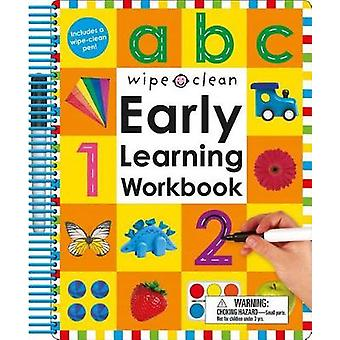Wipe Clean - Early Learning Workbook by Roger Priddy - 9780312513412 B