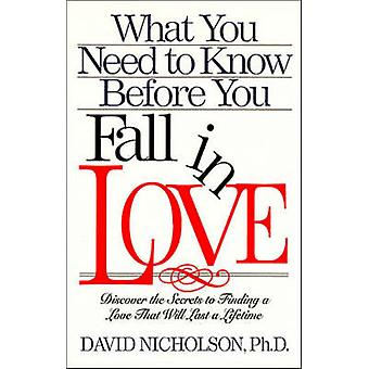What You Need to Know before You Fall in Love by David Nicholson - 97