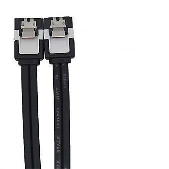 40cm SATA 3.0 Dat Cable with Metal Grip