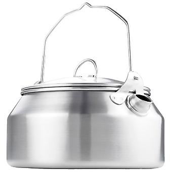 GSI Outdoors Steel Glacier Stainless Steel Tea Kettle 0.9Ltr