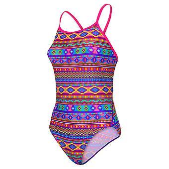 मारू Aztek आश्चर्य पेसर स्विफ्ट वापस swimwear के लिए लड़कियों