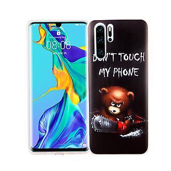 Huawei 1/1 Pro King Shop téléphone étui protection étui housse pare-chocs dont toucher mon téléphone ours
