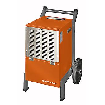Eurom LO50-dehumidifier-Construction dryer