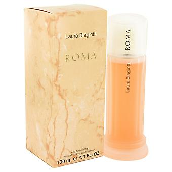 ROMA by Laura Biagiotti Eau De Toilette Spray 3.4 oz / 100 ml (Women)
