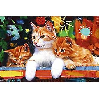 Poster - Happy Cats - 24