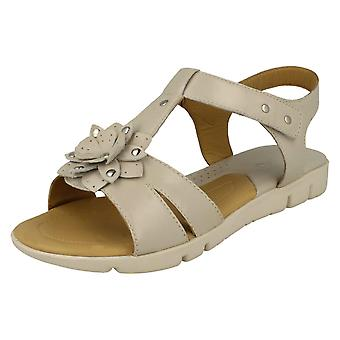 Ladies Padders Flower Detailed Sandals Tansy