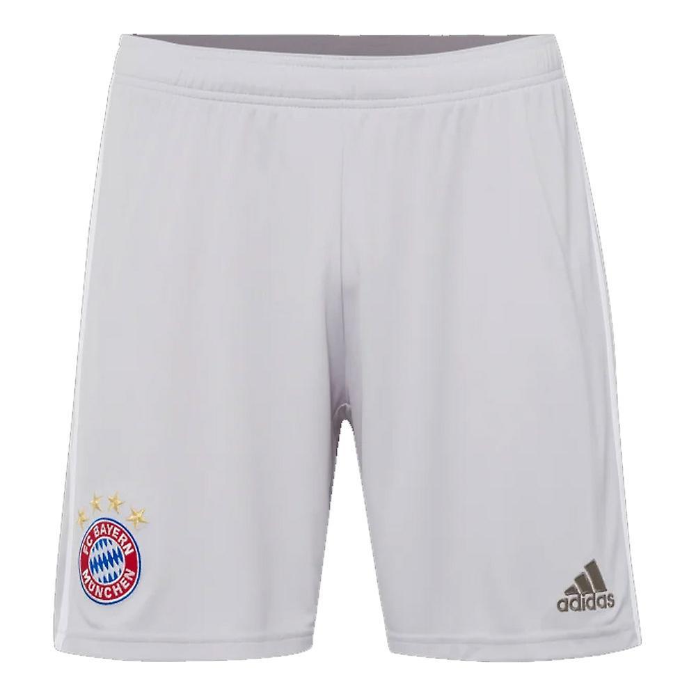 2019-2020 Bayern Munich Adidas Away Shorts (gris)