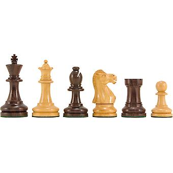 Supreme Series Rosewood Staunton Chess Pieces 3.5 Inches