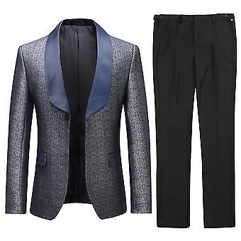 Allthemen Men-apos;s Tuxedos 2-Piece Banquet Banquet Party Blazer et Pantalons