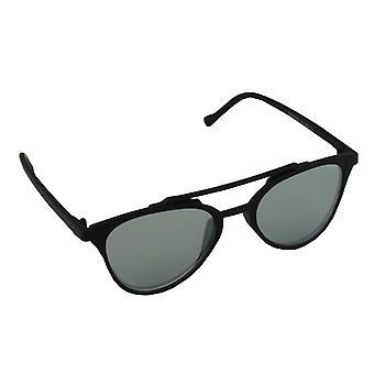 Sunglasses UV 400 Aviator light black reflective 1814B_11814B_1